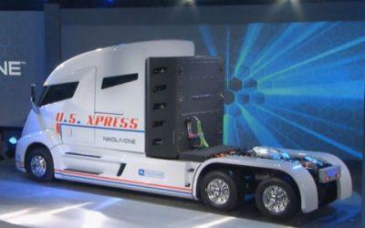 Nikola onthult eerste truck op waterstof